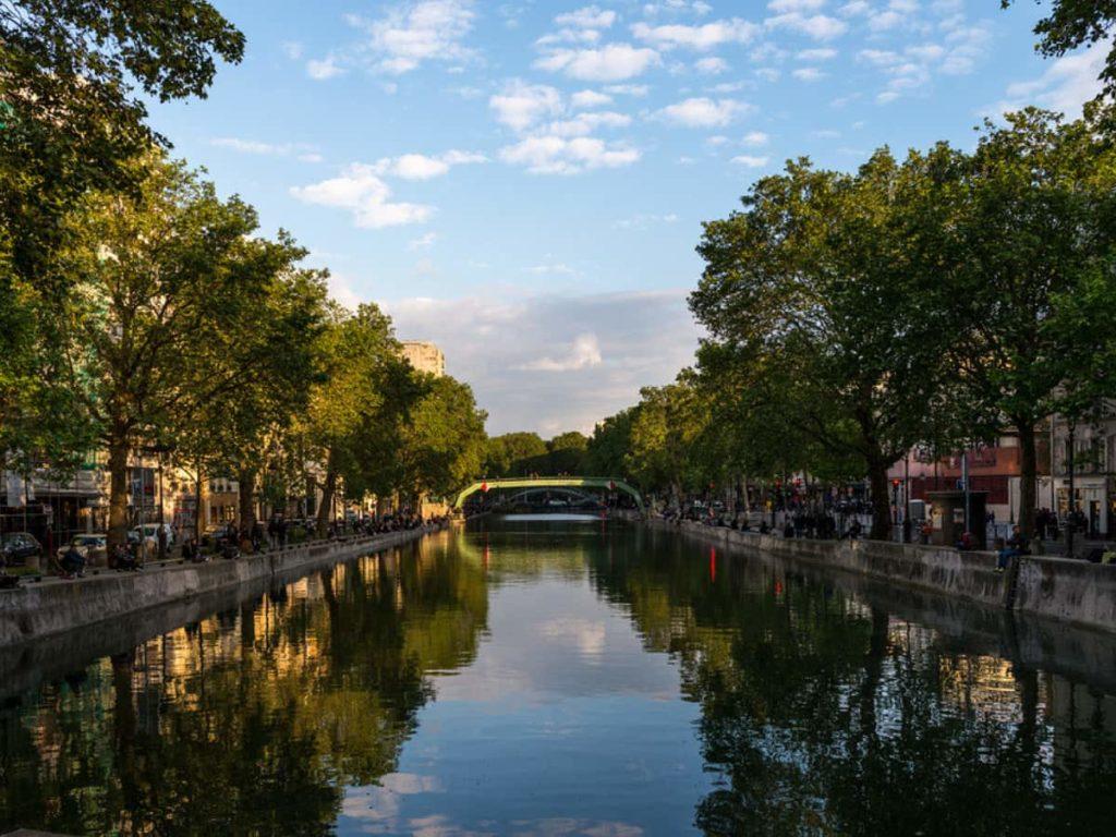 parigi Canal Saint-Martin